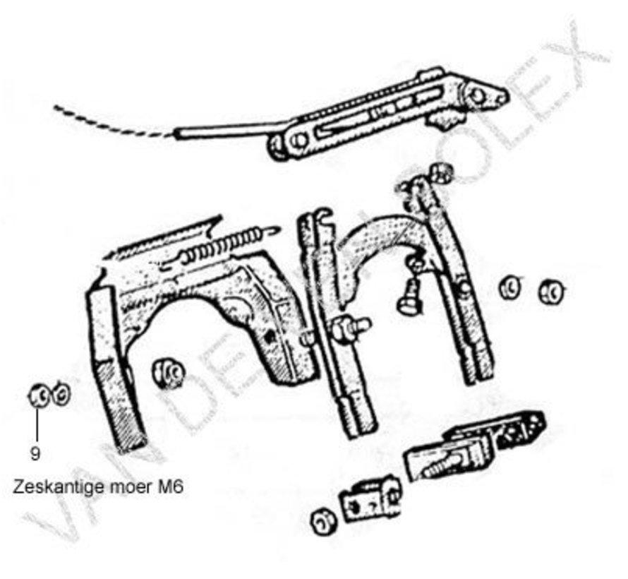 65. Left and right arm frontfork Solex