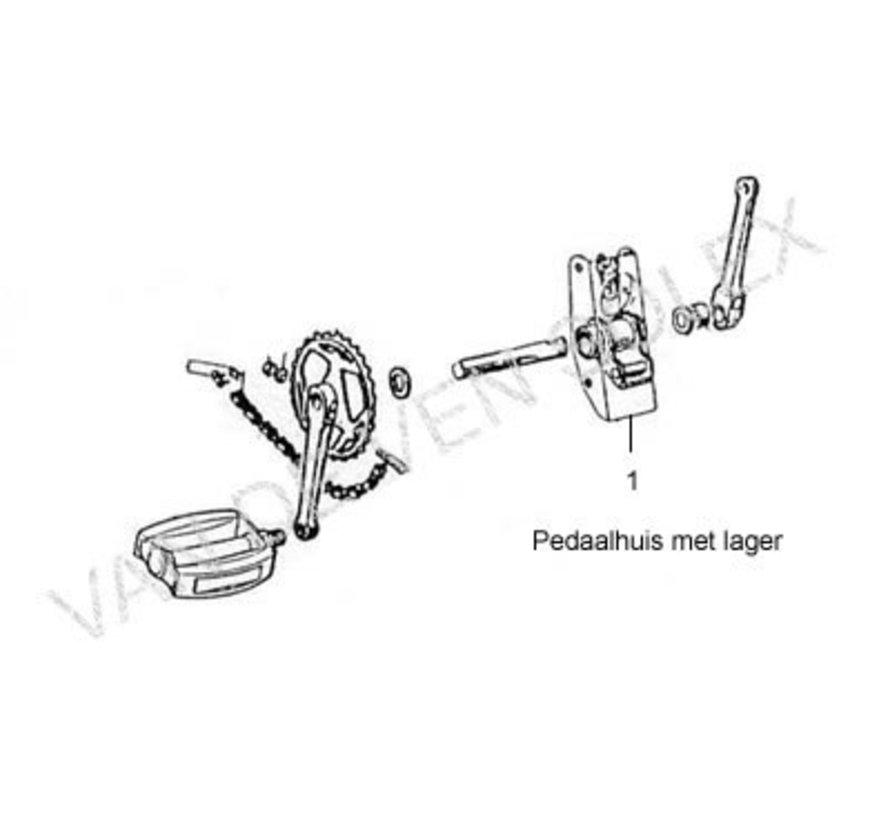 Thread cutters for crankshaft Solex (set left/right)