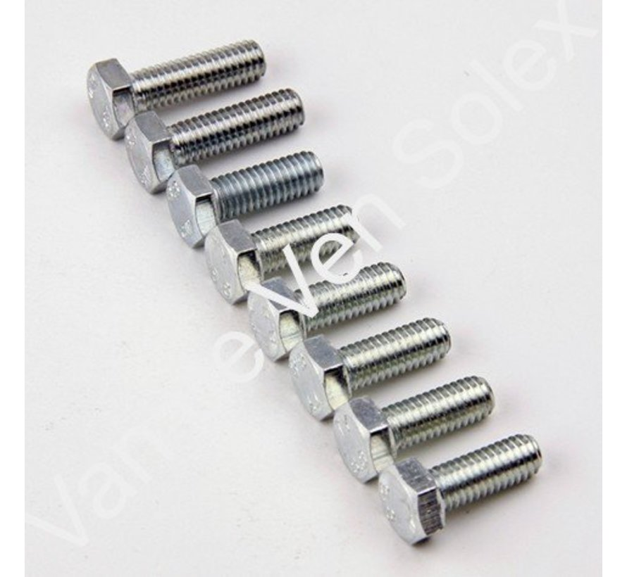 33. Revet M6x20 koper per 10 stuks Solex