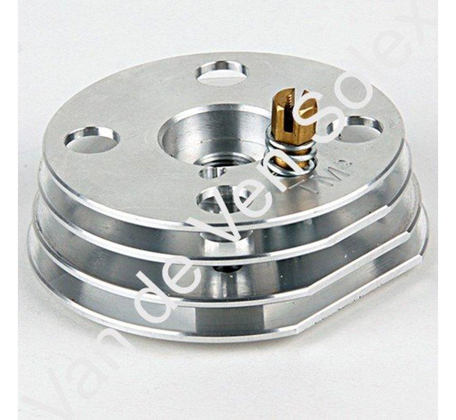 35. Schroef m6 50 Solex voor race cilinderkop