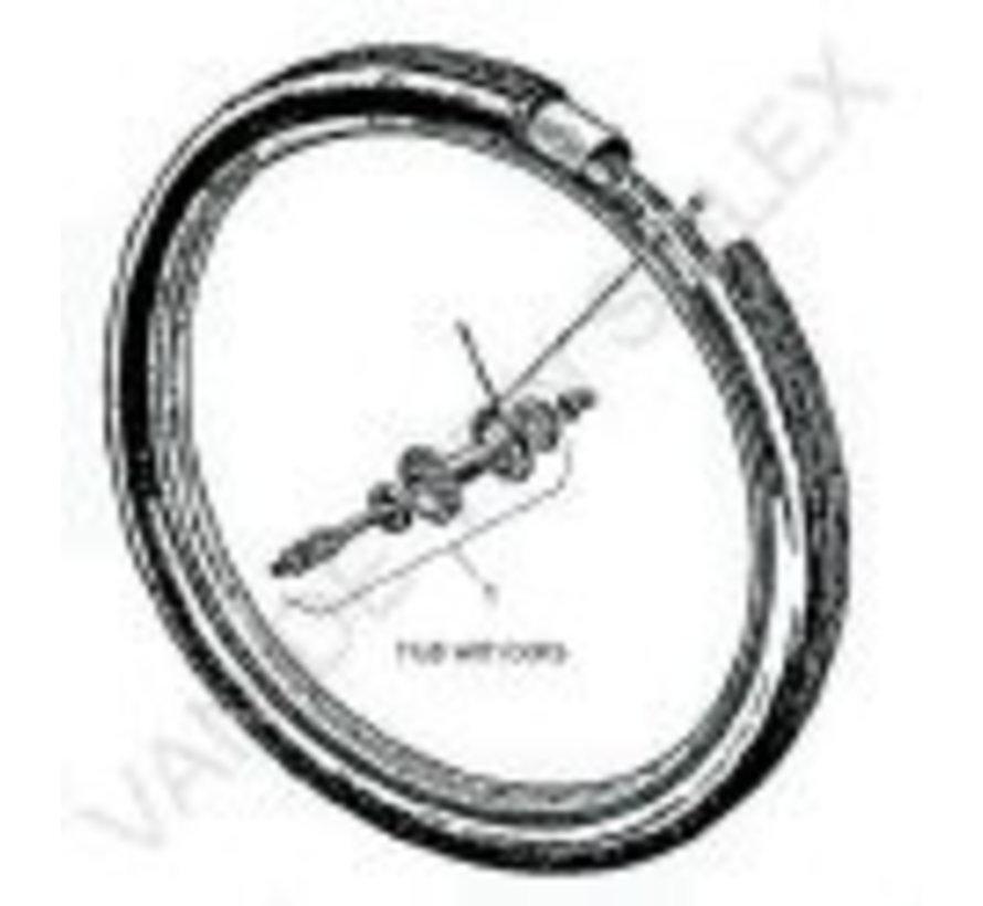 "01. Front wheel hub complete Solex 32 holes 24"""