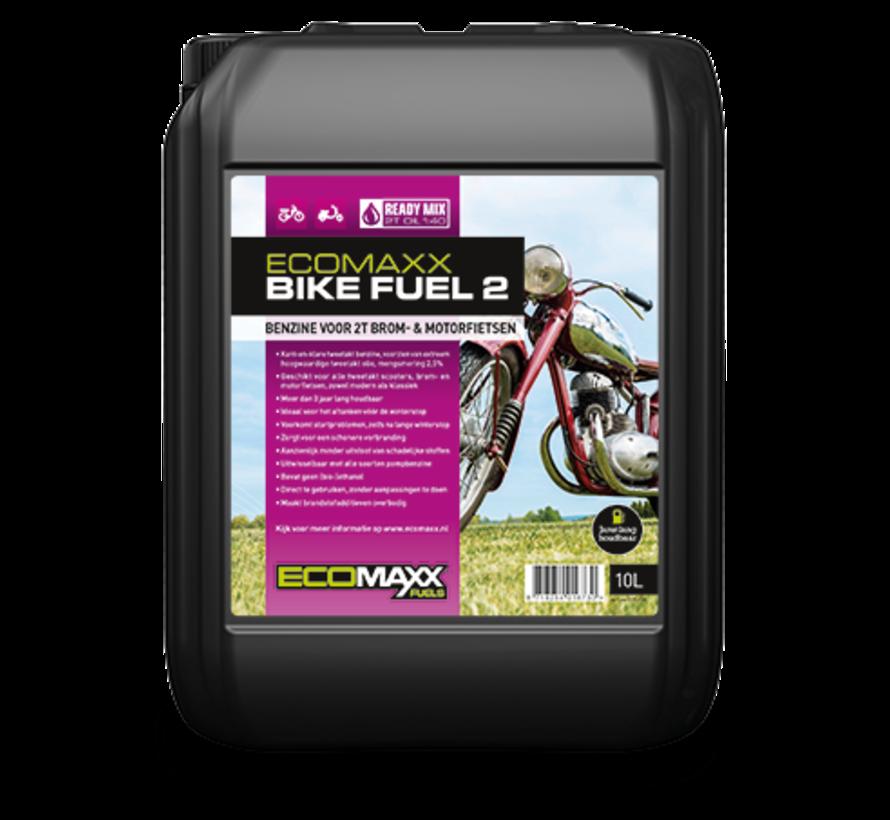 Ecomaxx Bike Fuel 2 - 10 liter : schoon, start altijd, maximale motorbescherming - alleen ophalen
