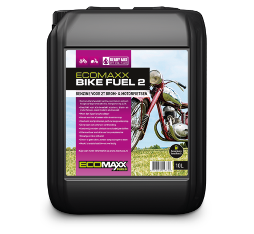 Ecomaxx Bike Fuel 2 : schoon, start altijd, maximale motorbescherming - alleen ophalen