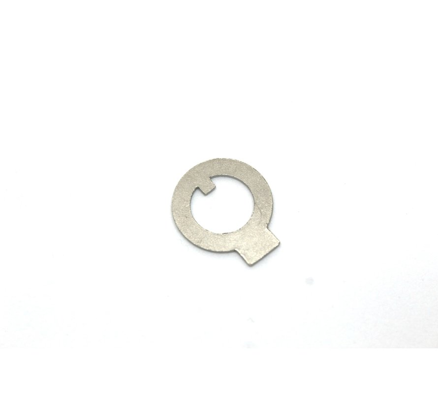 Locking plate connecting rod nut