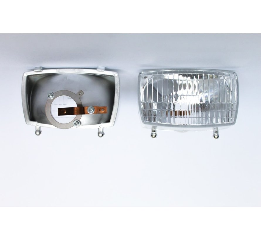 Headlight reflector thick fitting 6V-15W Hungarian-3800