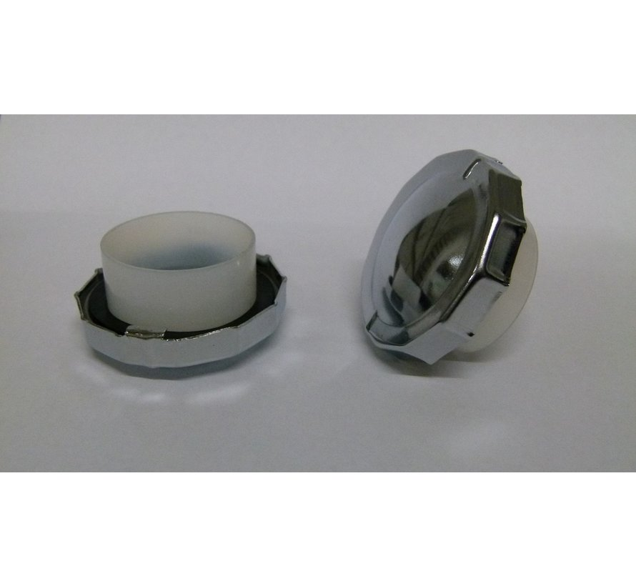 Brandstoftank Solex ijzer Donker Grijs OTO-1700-2200-3800-5000 exclusief tankdop