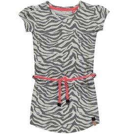 ba4ea6e0813de5 Quapi Quapi - Kleedje Saar 1 zebra motief - Grey zebra