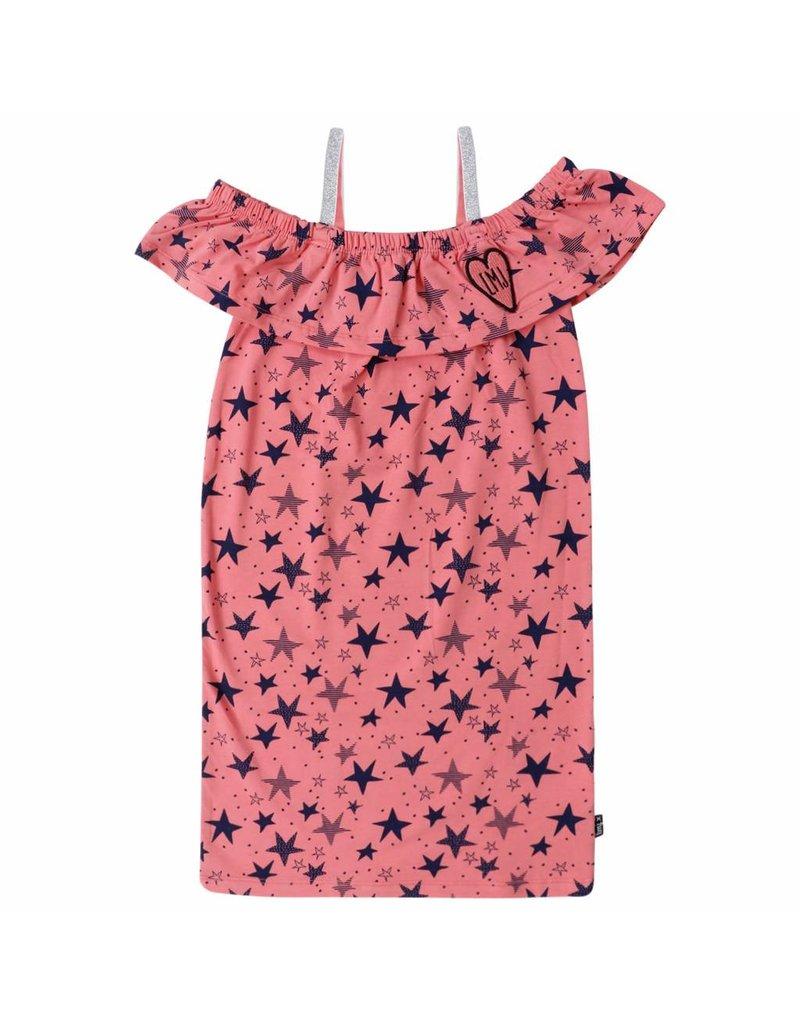 69e5ceeec290 Little miss juliette LMJ - T-shirt met sterren mouwloos - roze ...