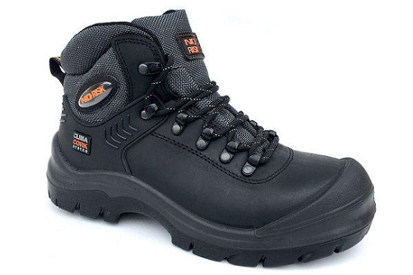 No Risk blackrock werkschoenen voor brede voeten