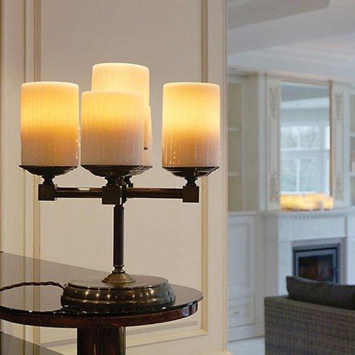 Tafellamp landelijke stijl 5 kaarsen LED