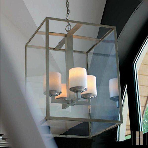 Lamp met kaarsen lantaarn landelijk LED