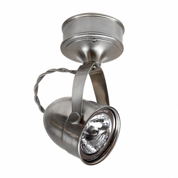 Plafonnier orientable campagne chic bronze, nickel, chrome