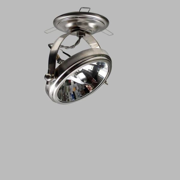 Spot orientable rustique chic bronze, nickel, chrome