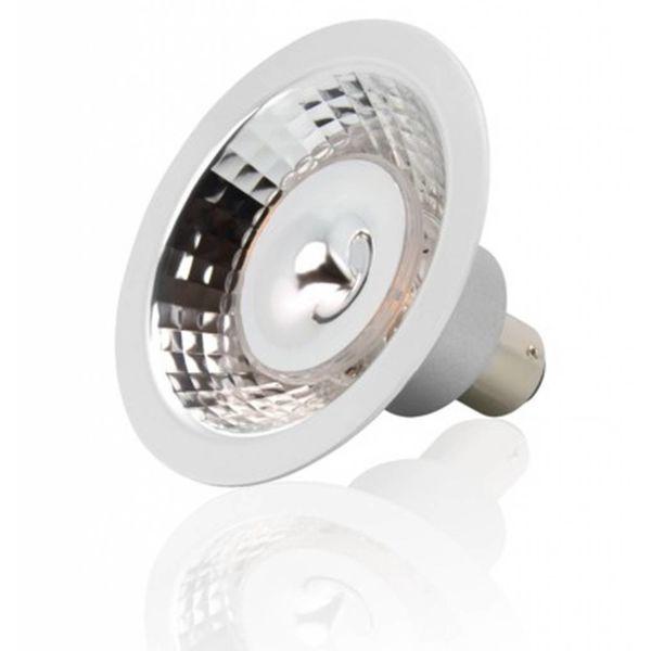AR70 LED 12V  7,5W of 8W dimbaar, dim to warm