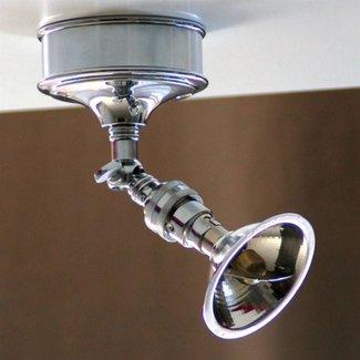 Plafondlamp verstelbaar landelijk brons, nikkel, chroom