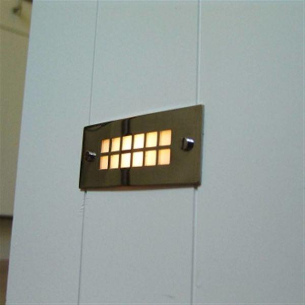 Eclairage escalier encastrable extérieur, intérieur rustique