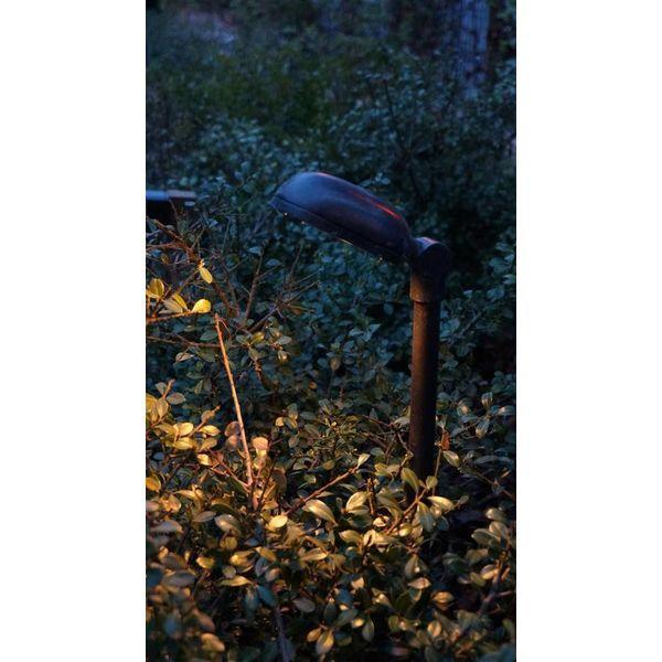 Poteau luminaire rustique LED bronze 0,5 - 0,75 - 1 - 1,5m