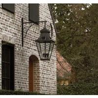 Lanterne extérieure murale rustique chic bronze