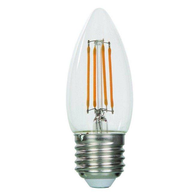 LED kaarslamp 4W 2700 of 2500 Kelvin