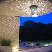 Suspension cylindrique romantique ciel étoilé