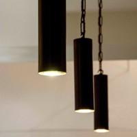 Hanglamp ketting brons cilinder 15, 25, 40 of 80 cm H landelijk