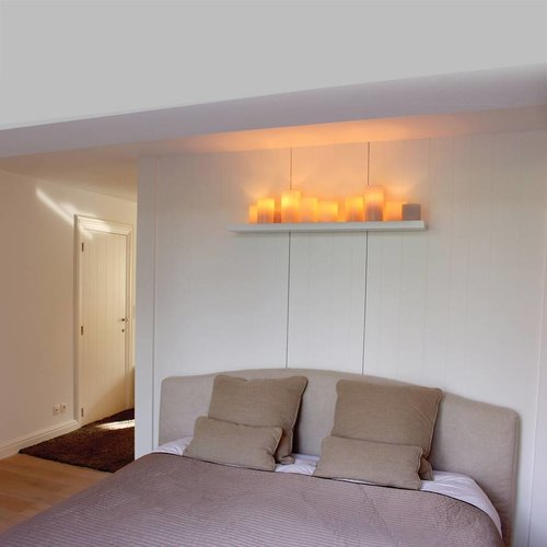 Applique murale cosy bougies LED