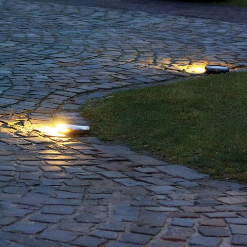 Eclairage allée LED bronze, nickel, chrome rustique chic