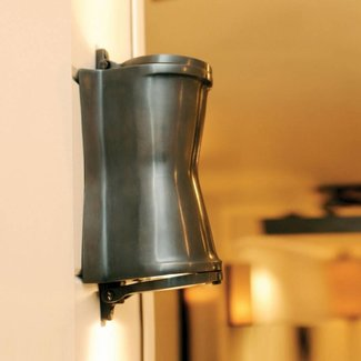 Wandlamp brons landelijk up down GU10