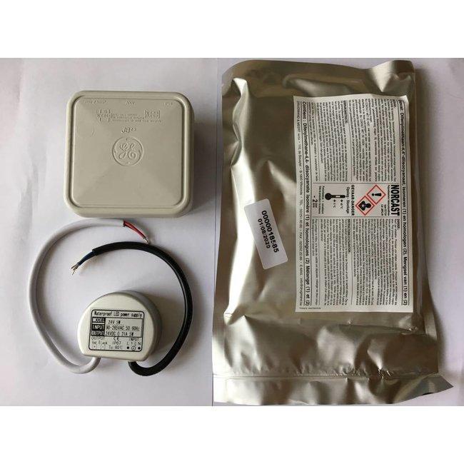 Transformateur LED 24V DC IP68 5W