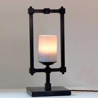 Lampe de chevet romantique bougie scintillante rustique chic