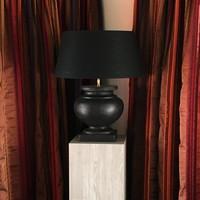 Lampe céramique design avec abat-jour