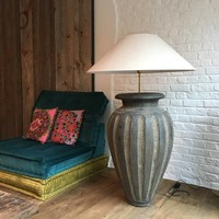 Lampadaire céramique avec abat-jour