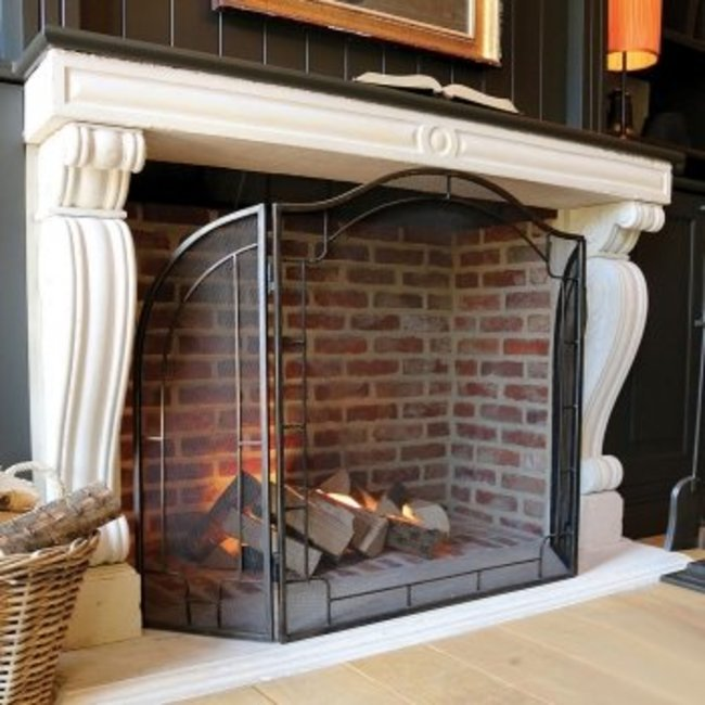 Lampe cheminée couleur très chaude