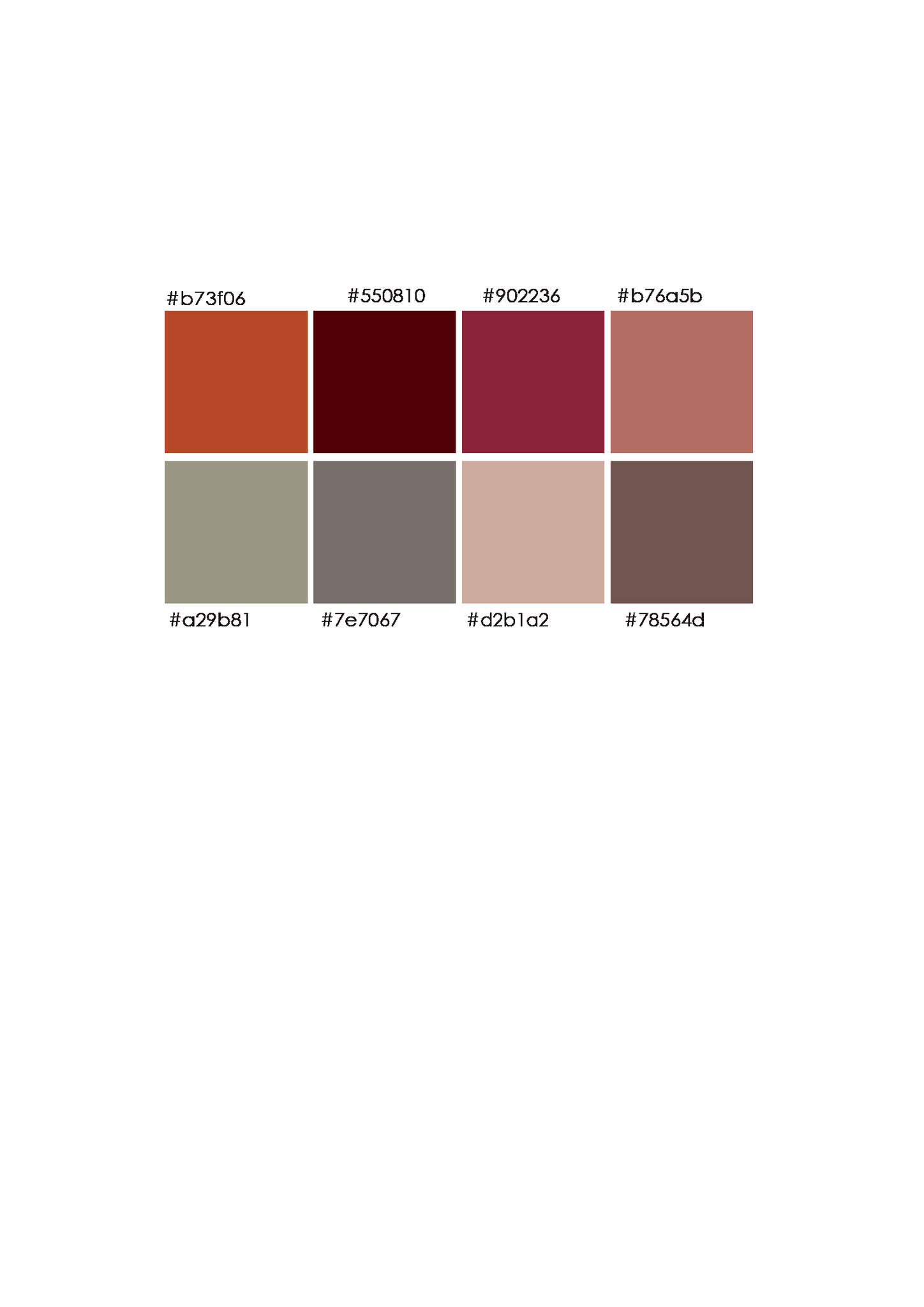 landelijke kleuren