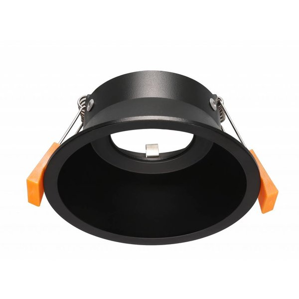Spot encastrable noir profond GU10 230V 100mm