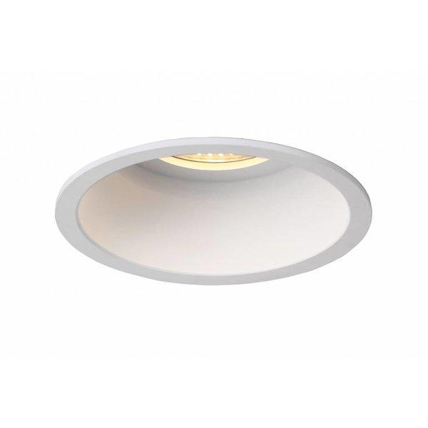 Witte inbouwspot diameter 100mm GU10
