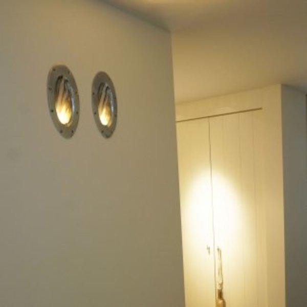 Trap licht in landelijke stijl