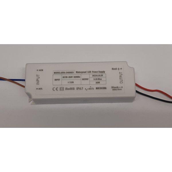 LED driver 24V 80W IP65