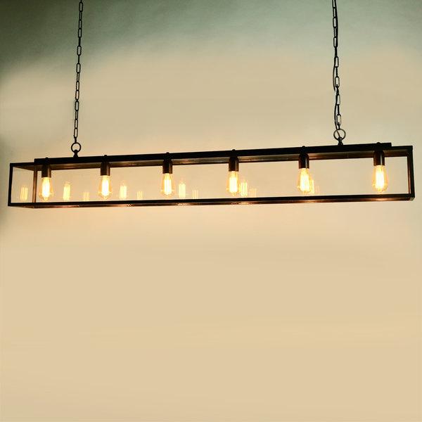 Luminaire pour salle à manger campagne chic bronze