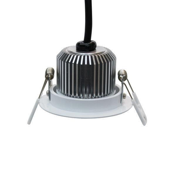 Badkamer inbouwspot 7W LED driverless dimbaar kantelbaar zaagmaat 70mm