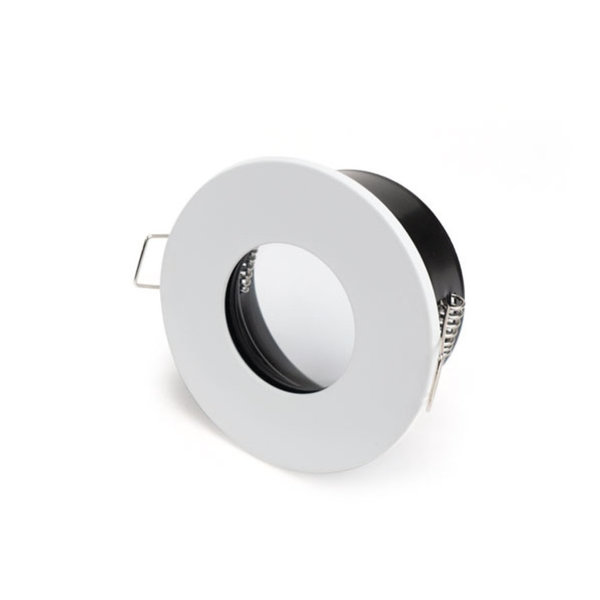 Spot encastrable IP65 GU10 blanc rond