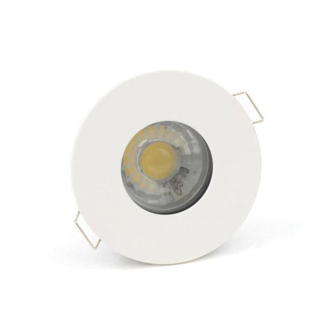 Spot encastrable IP65 GU10 blanc rond
