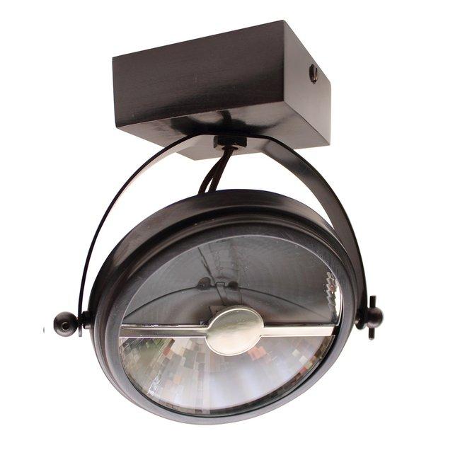 Stijlvolle plafondlamp richtbaar landelijk brons, nikkel, chroom