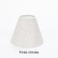 Wandlamp kap brons, nikkel of chroom zwart, pirée chinée, blanc cassé