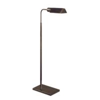Klassieke leeslamp brons 86 - 114 cm