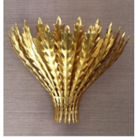Applique chic forme branches doré, argent