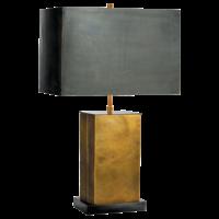 Lampe de chevet chic laiton avec abat-jour petit ou grand modèle