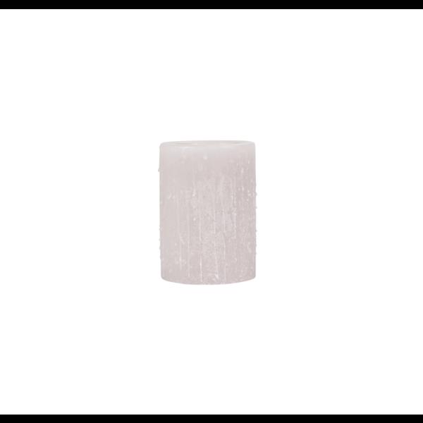 Bougie en cire couleur lin différentes tailles (aussi disponible en verre ou blanc)