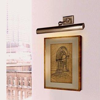 Lamp voor schilderij brons, messing of nikkel landelijk