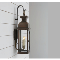 Lanterne cuivre applique pour dehors